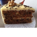 Black Sesame Carrot Cake