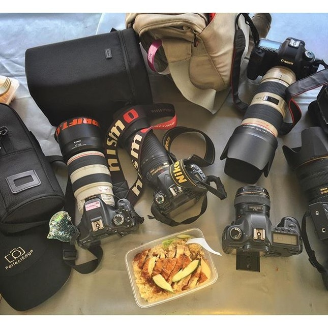 Lunch situation  #canon #nikon #chickenrice #myfoodies