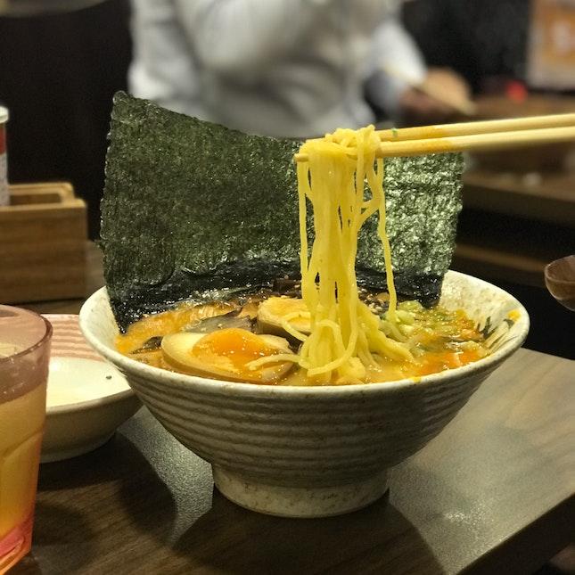 Red Spicy Signature Tonkotsu $18.80++