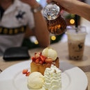 Shibuya Honey Toast at @afteryoudessertcafe Baby Sized!