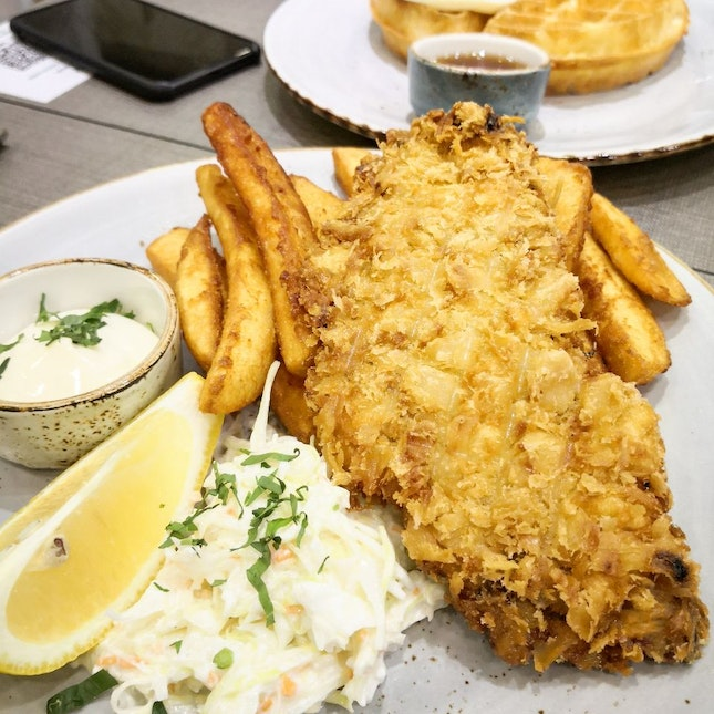 Fish And Chips ($18)