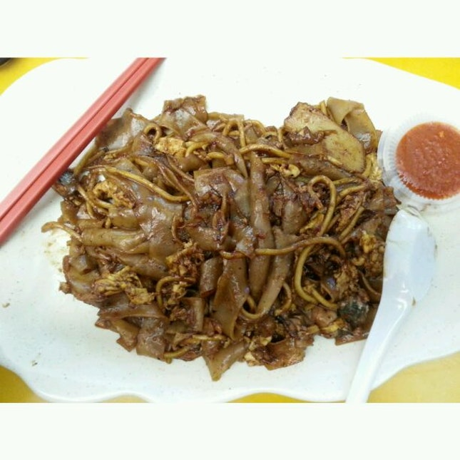 Fried Kway Teow Cockles