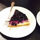 sent via @latergramme blueberry cheese cake 🍰