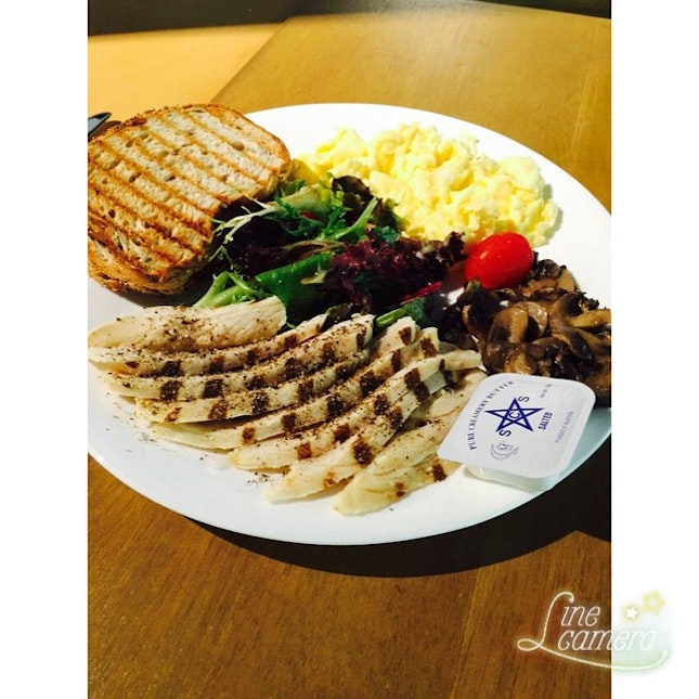 #linecamera my lunch at cozy corner coffee!