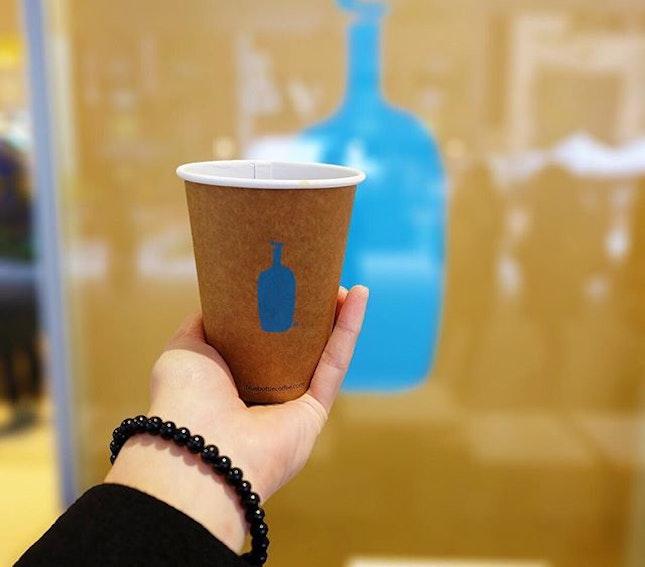 Blue Bottle Coffee.