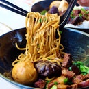 Does Braised pork go well with noodles?