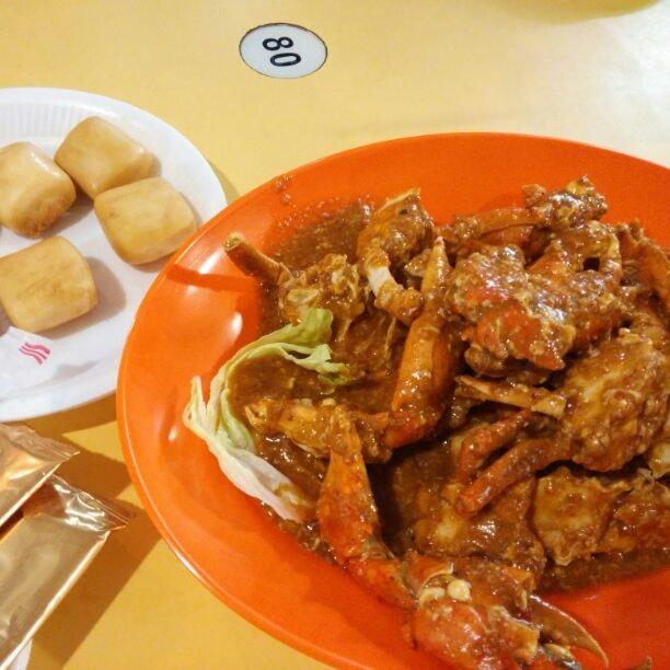 Best Combo: Chilli Crab + Fried Mantou