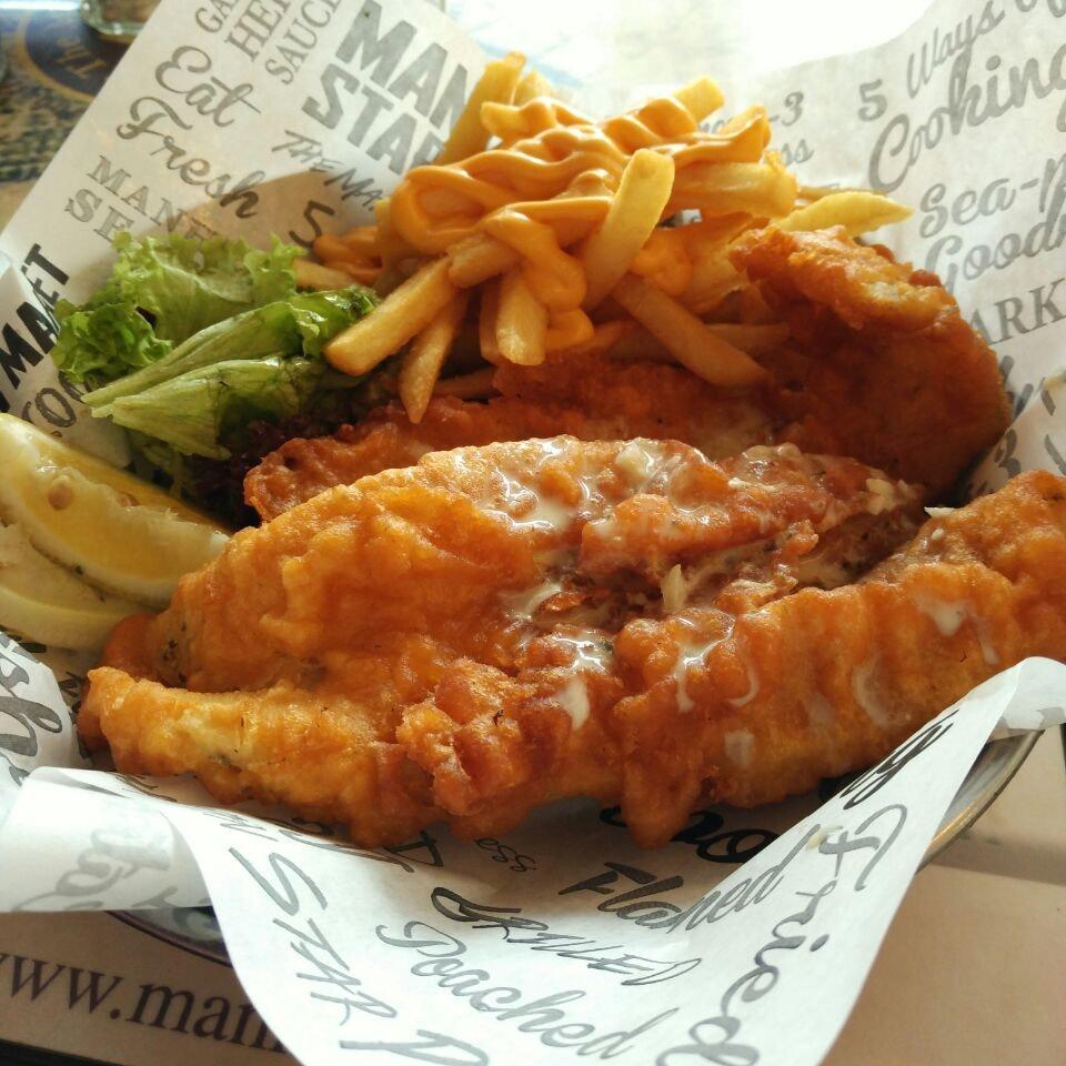 Fish & Cheesy chips!