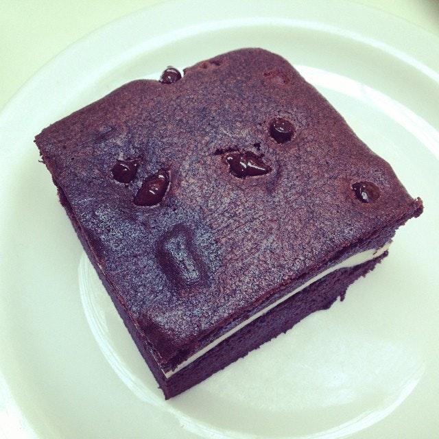 Nice n warm #vienna #brownie
