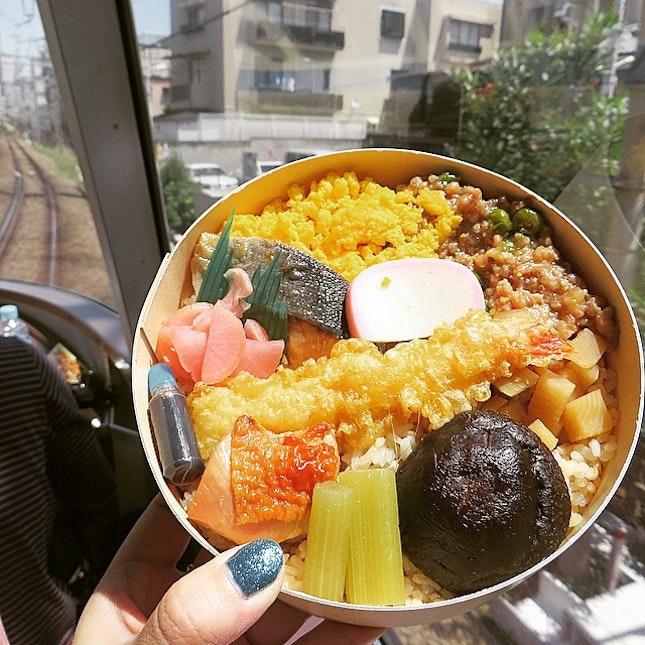 mandatory to have bento in Japan bullet train.