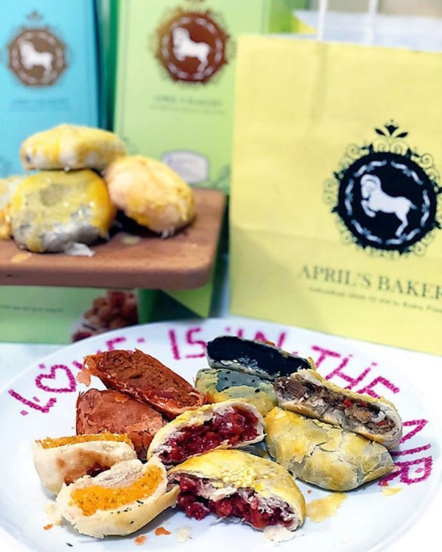 Featuring 2 NEW flavours from @aprilbakerysg , Mock Char Siu flavour and Shitake Mushroom across all 3 branches in Chinatown, One Raffles Place and Tampines!