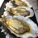 grilled oyster with ponzu sauce