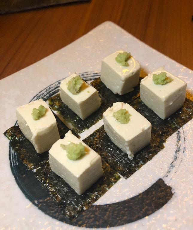 Wasabi Cheese Terrine ($8)