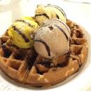 Gelato Waffles