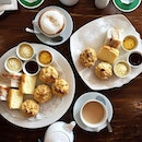 For a taste of the English afternoon, go for the Devonshire Cream Tea set.