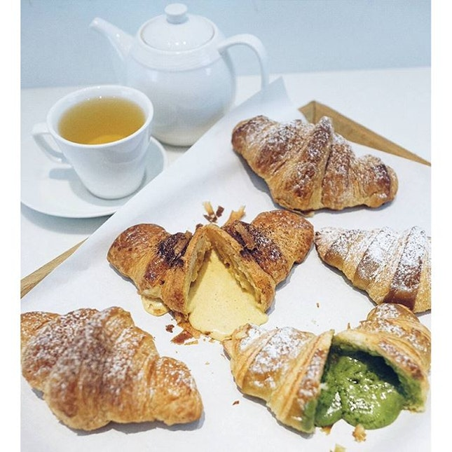 If you think the {Matcha Salted Egg Croissant} was wildly successful?