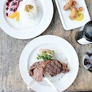 Embracing the weekends with steak and a side of pavlova  Where are some of your favourite places for a good piece of meat?