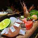 The sashimi course at @ginzayoshihiro Omakase epic gourmet feast :) #sashimi #ginzayoshihiro #sgfood #sgrestaurant #foodporn #burpple #epic #omakase
