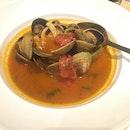 Tomatoe Clam Soup