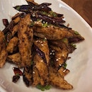 Sichuan Style Fried Eggplants ($9.90)
