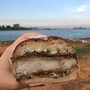 limited ed fish fillet burger