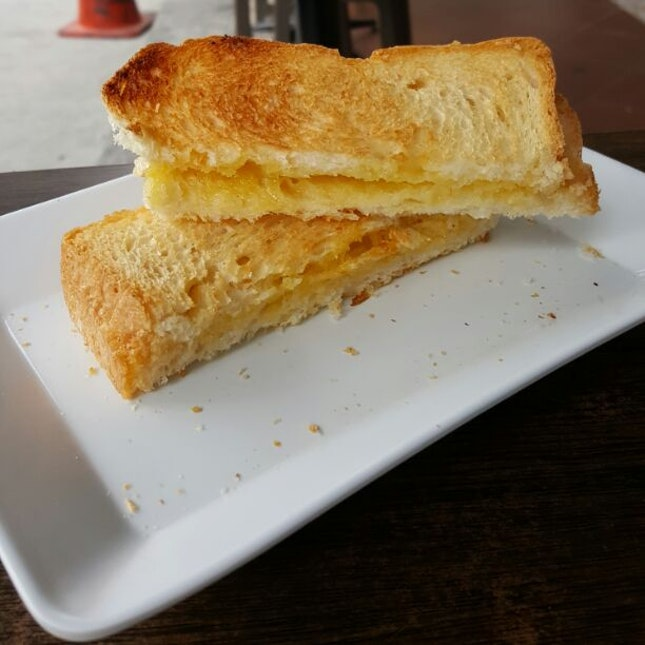 Butter Sugar Toast ($4.50 For A Set With 2 Eggs And Coffee/ Tea)
