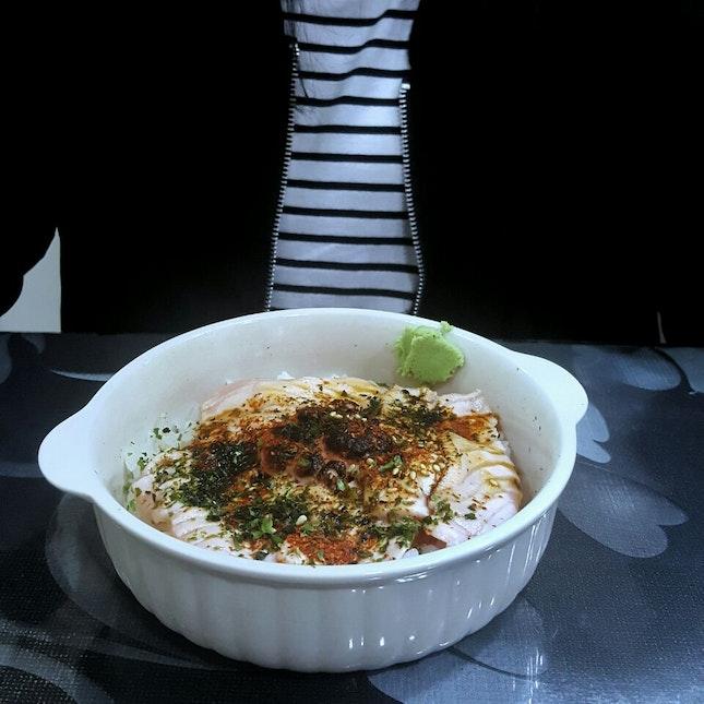Salmon Mentai Don ($10)