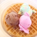 3 Scoops Waffle ($2.50) Beat the heat & brace the haze after your hearty meal at Canteen 2!