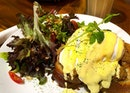 [Eggs Benedict] - Not bad, but neither was it good....