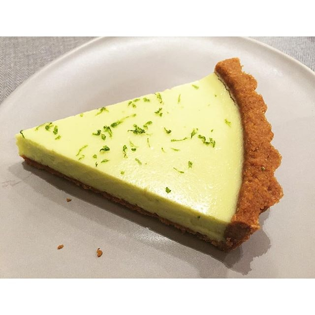 Key lime tart.