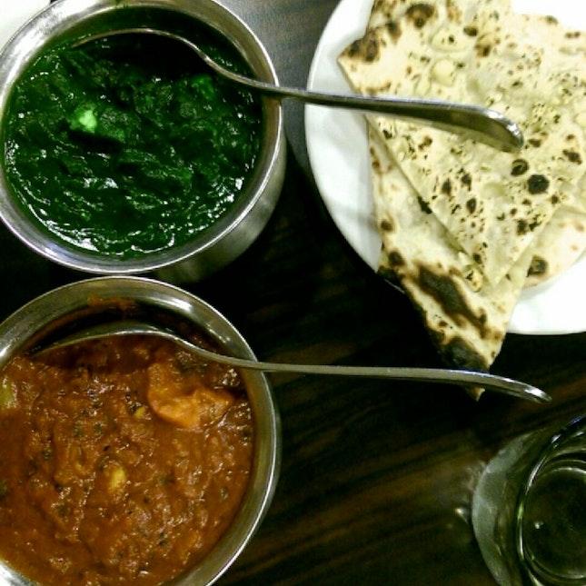 Palak Paneer & Chicken Tikka Masala