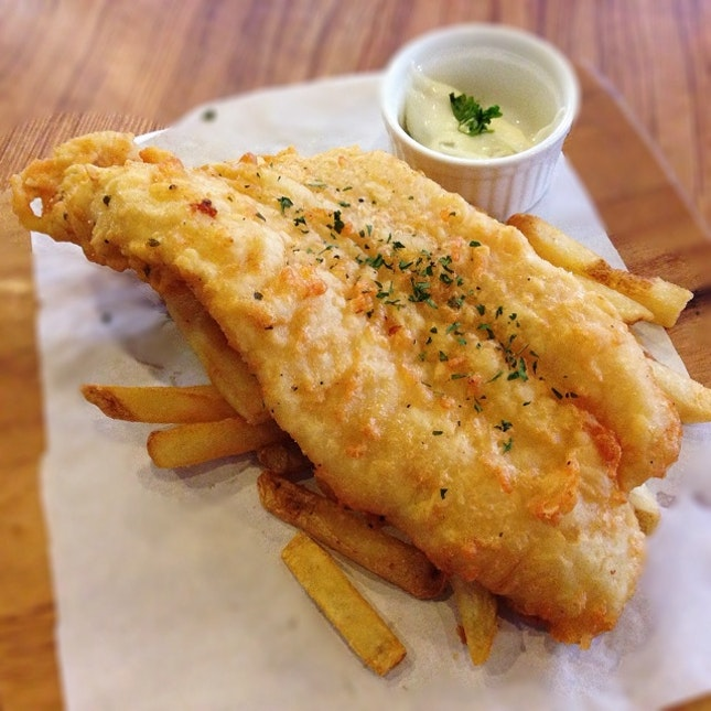 For Great Fish & Chips