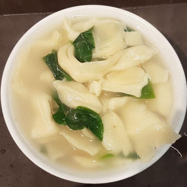 mee hoon kuay ($3.50) from Hong Kee Pork Noodle○Porridge○Mee Hoon Kuay 雄記 猪肉粉○面粉粿○粥