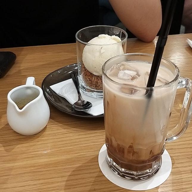 iced mocha ($7) & tiramisu ($12)