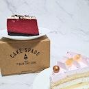 Lychee rose & red velvet cheesecake