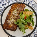 honey babyback ribs ($22)