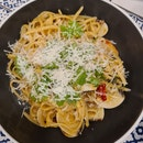 tomyum creamy pasta ($17)