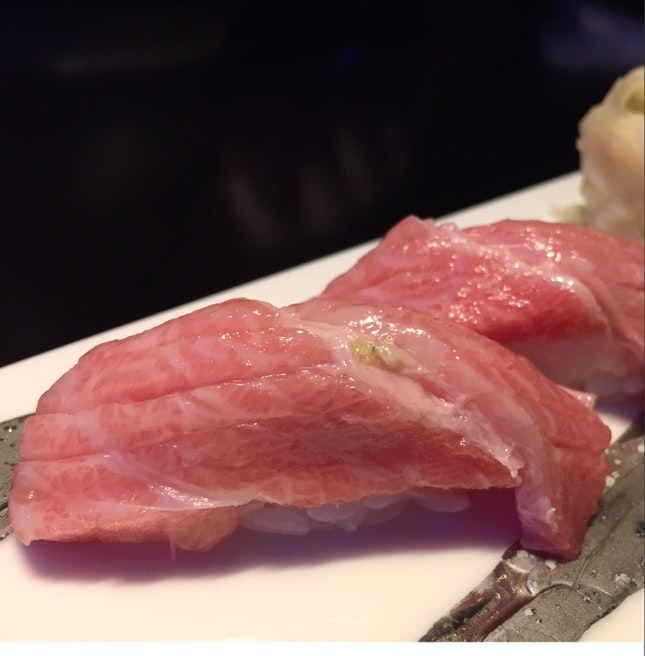 Fatty Tuna Sushi ($45)