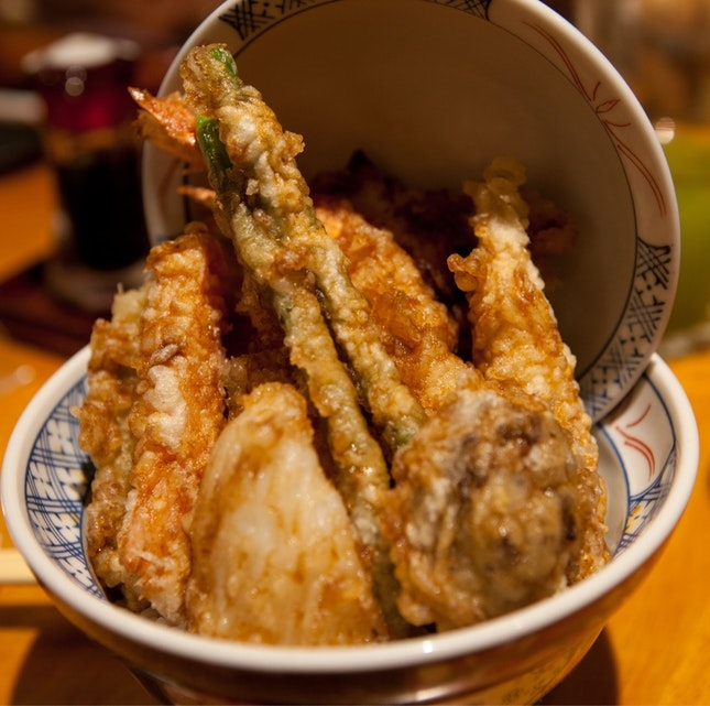 Signature Kohaku Tendon ($15++)