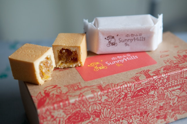 SunnyHills Pineapple Cake
