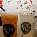 Thai Milk Tea And Lemongrass Juice