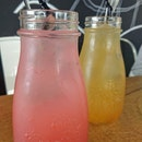 Raspberry Lemonade & Yuzu Chrysanthemum Tea
