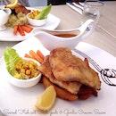 Seared Fish wit Chili-Padi Garlic Cream Sauce