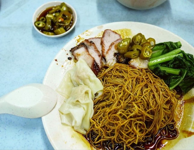 The Famous Wantan Mee @ Sungai Besi