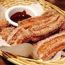 Churros to cheer me up from mid week blues #sgfoodies #sgfood #instafoodsg #instafood_sg #hungrygowhere #burpple #whati8today #openricesg #igsg #sgigfoodies #sgig #sgfoodtrend #sgfoodhoppers #sgfoodscene #sgrestaurant #sgbars #foodvsco #vscocam #eatoutsg #sgfoodunion #sgglutton #cafehoppingsg #sgcafefood #jamyundies