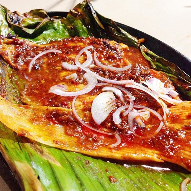 Managed to satisfy my sambal stingray cravings last night.