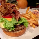 This Harry's Jazz Burger [$19] is just filled with goodness with every bite.
