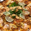 Tom Yum Pizza