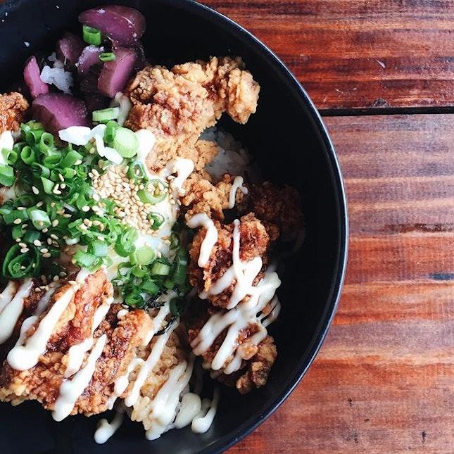Chicken Teritama-don ($12)