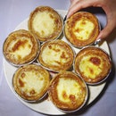 Egg Tarts With Bird Nest